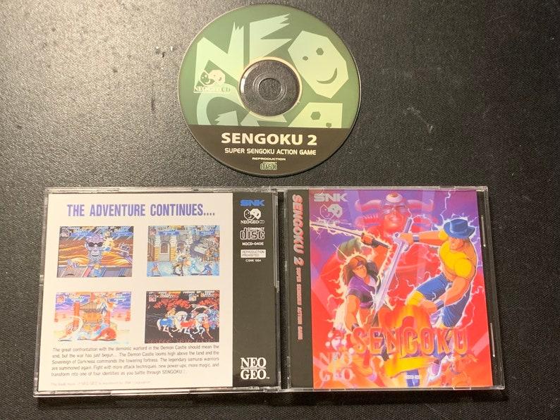 Neo Geo CD Sengoku 2 Reproduction