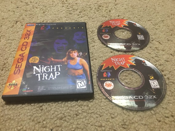 Sega CD 32X Night Trap Reproduction