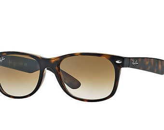 bb9a787af4 ITALY New Ray Ban 2132 710 52 Brown Tortoise Sunglasses Havana Lens 52mm  New and Authentic