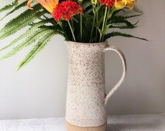 Handmade Stoneware Pitcher/Vase