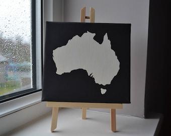 Australia - Acrylic Painting on Canvas