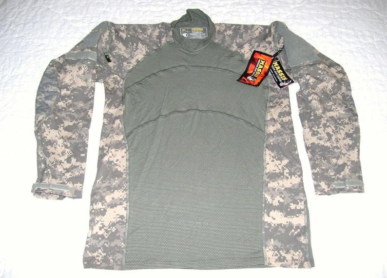 09064c4590f6 U.S. Army MASSIF ACU Combat Shirt size Medium NWT Flame