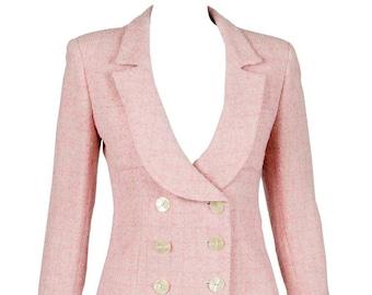Valentino Pink Tweed Jacket