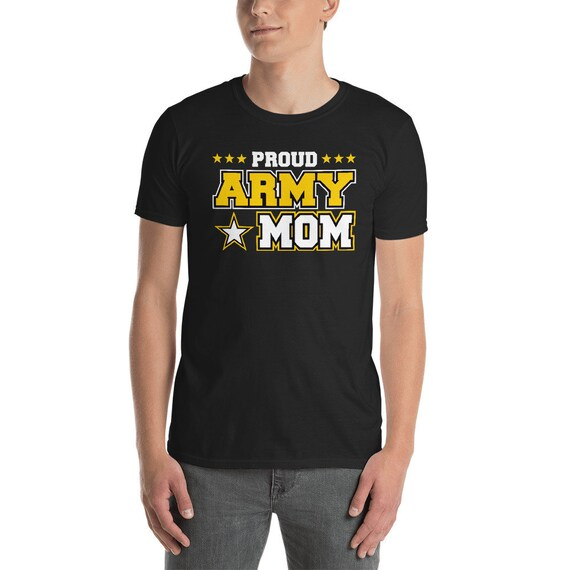Proud Army Mom T Shirt US Military Mom Family patriotic  0ce5b7ac4