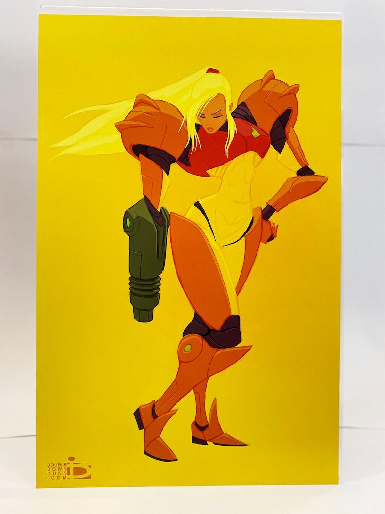 Metroid  Samus in Yellow image 0