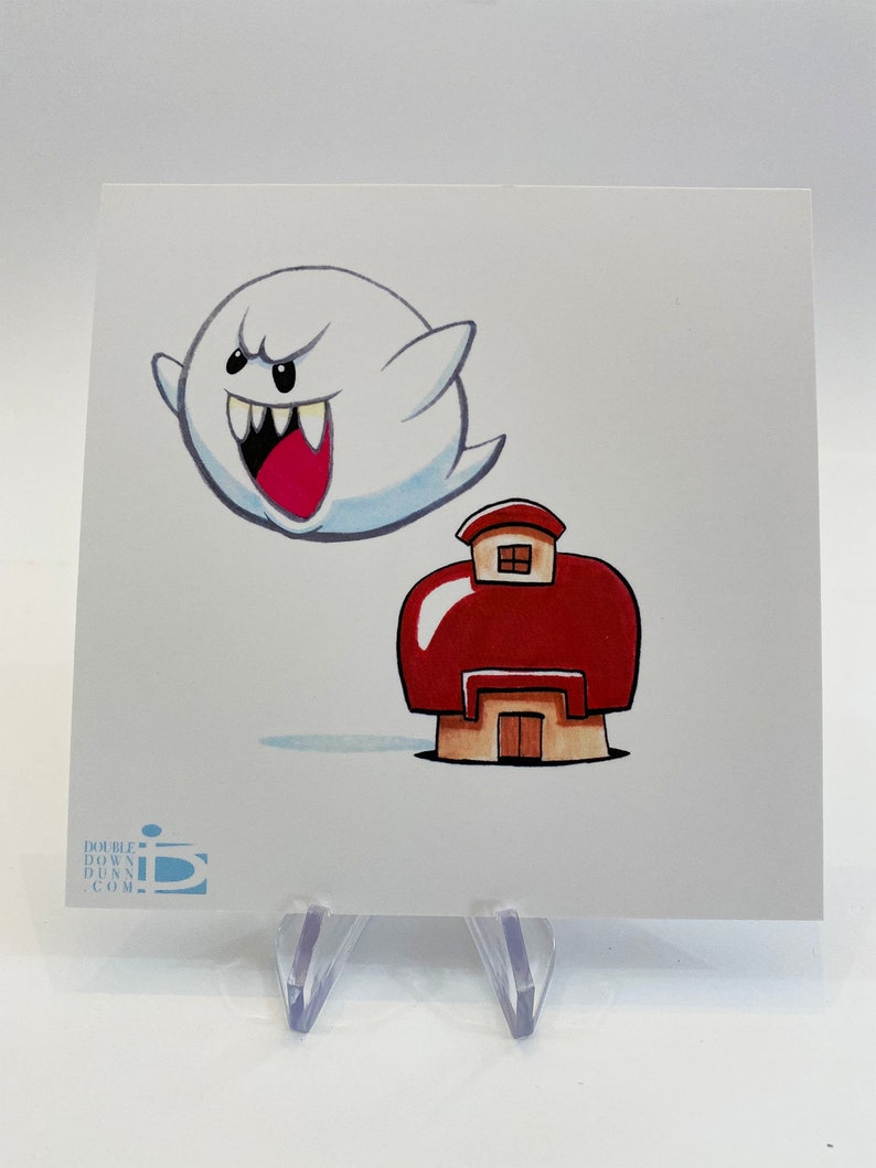 Mario Bros.  Boo House image 0