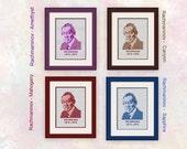 Rachmaninov - Hald Size - Clear Chart - Suit Beginner Upwards
