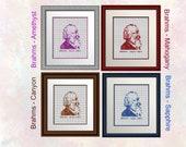 Brahms - Half Size - Clear Charts - Suit Beginner Upwards