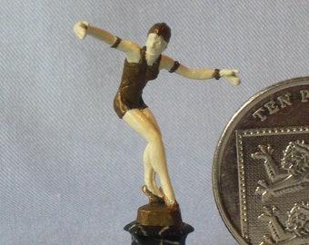 Bronze Art Deco figure after Priess