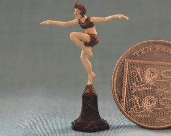Miniature Art Deco bronze by Neil Carter