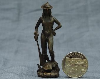 Bronze David miniature after Donatello