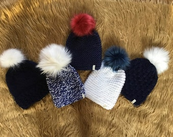 New England Patriots - Hand Knit Luxury Hats - get ready for the Super  Bowl!!! ONE OF A KIND!!! (Free Shipping) 4f82135ff