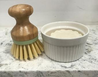Solid Dish Soap Bar - Handwashing Dish Soap - Zero Waste - Vegan - Sustainable - Environmentally Friendly - Made in USA