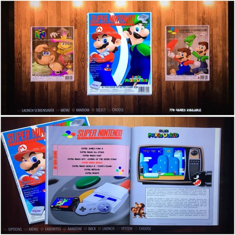 128 GB Retropie SD Card - Latest Pi 3 B+ 18,000+ Games! 3D Boxart, Video  Previews