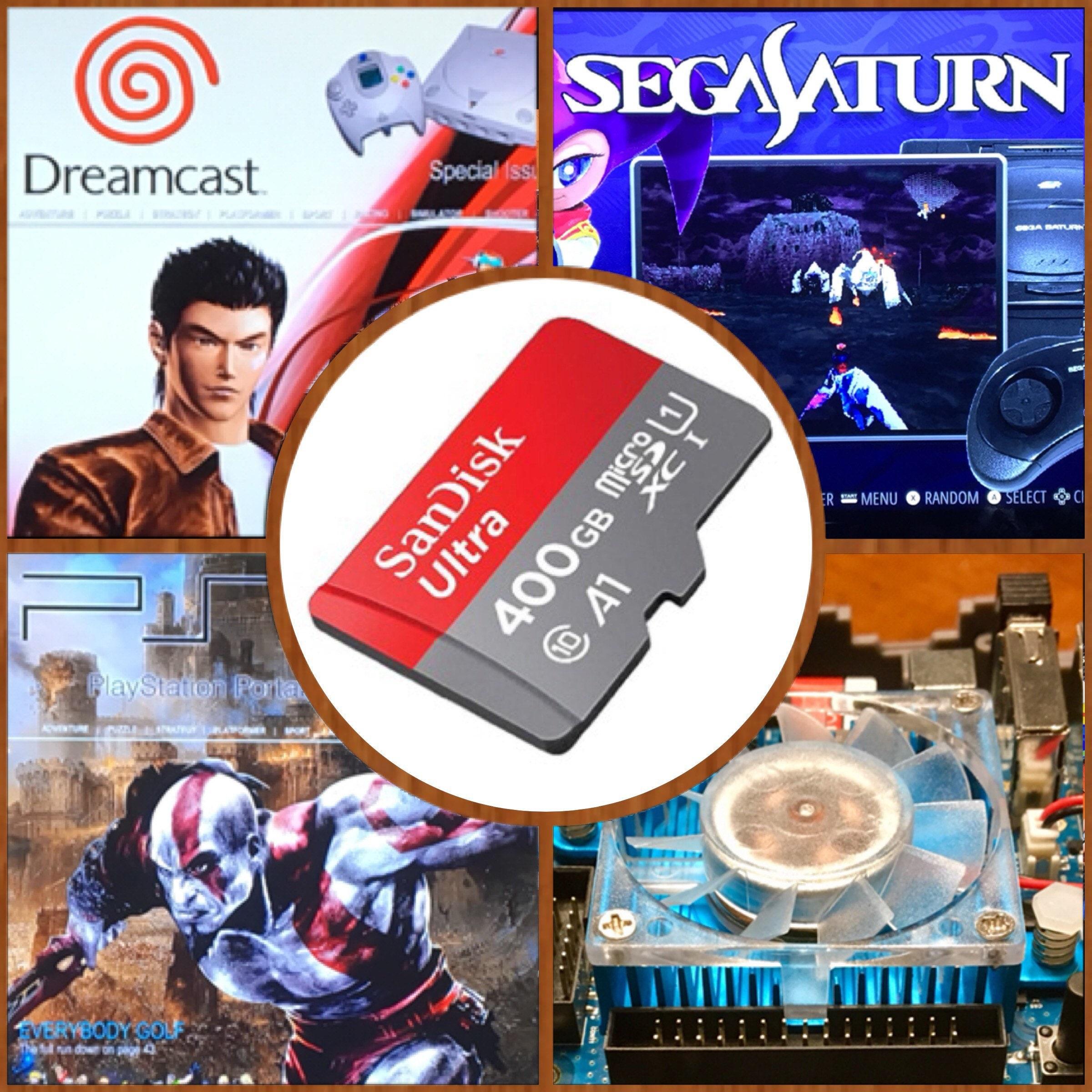 400 GB ODROID XU4, latest Ora v1 65 Retropie SD Card - Sega Saturn, Naomi,  Atomiswave    3D Boxart, Video Previews, brand-new build!!!
