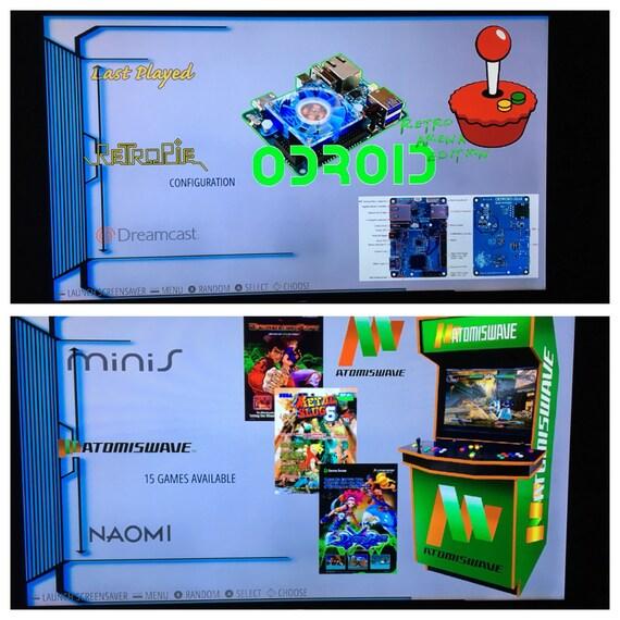 ODROID XU4 - 200 GB Ora v1 65 Retropie Game Console - Sega Saturn,  Atomiswave, Naomi, Dreamcast, N64, PSP