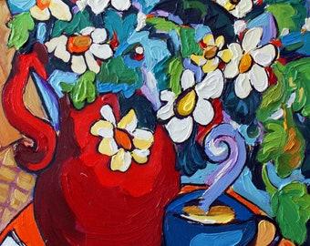 Red Bouquet - Trivet/Coaster/Plaque