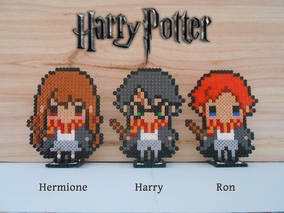 Harry Potter Characters Base Magnet Magnet Hama Beads Etsy