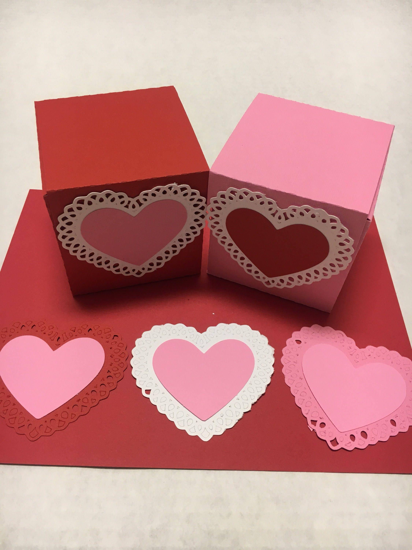 Valentine Day treat boxes   Etsy