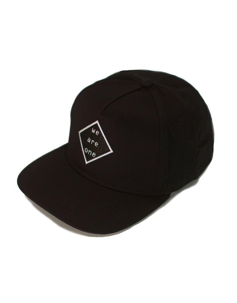 02893946943 WE ARE ONE snapback baseball cap rave hat festival hat