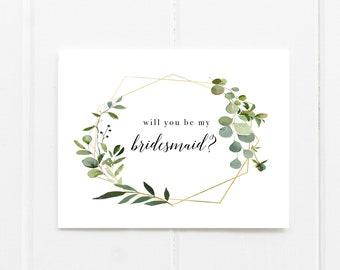 bridesmaid cards etsy