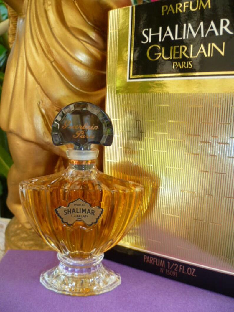 Flacon 15ml Plein Scellé 1983 Shalimar Vintage Parfum Contre Pur Numéroté Sa Boite Cristal Dans Guerlain Et hrCxtsdQB