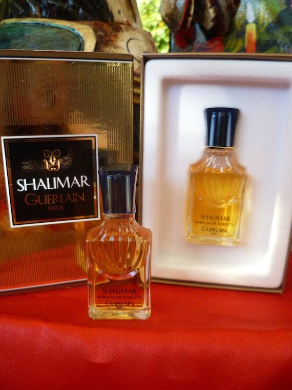 Guerlain Toilet Without Perfume Miniature Shalimar Box Full One EHI2D9