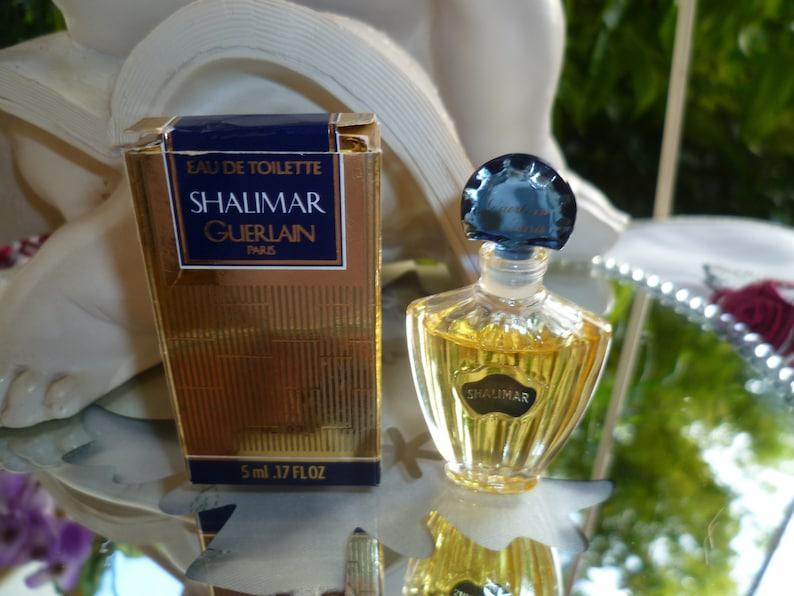 Shalimar Boite Miniature Eau Toilette Sa De 34 Dans Guerlain 5ml Pleine wN8vmn0