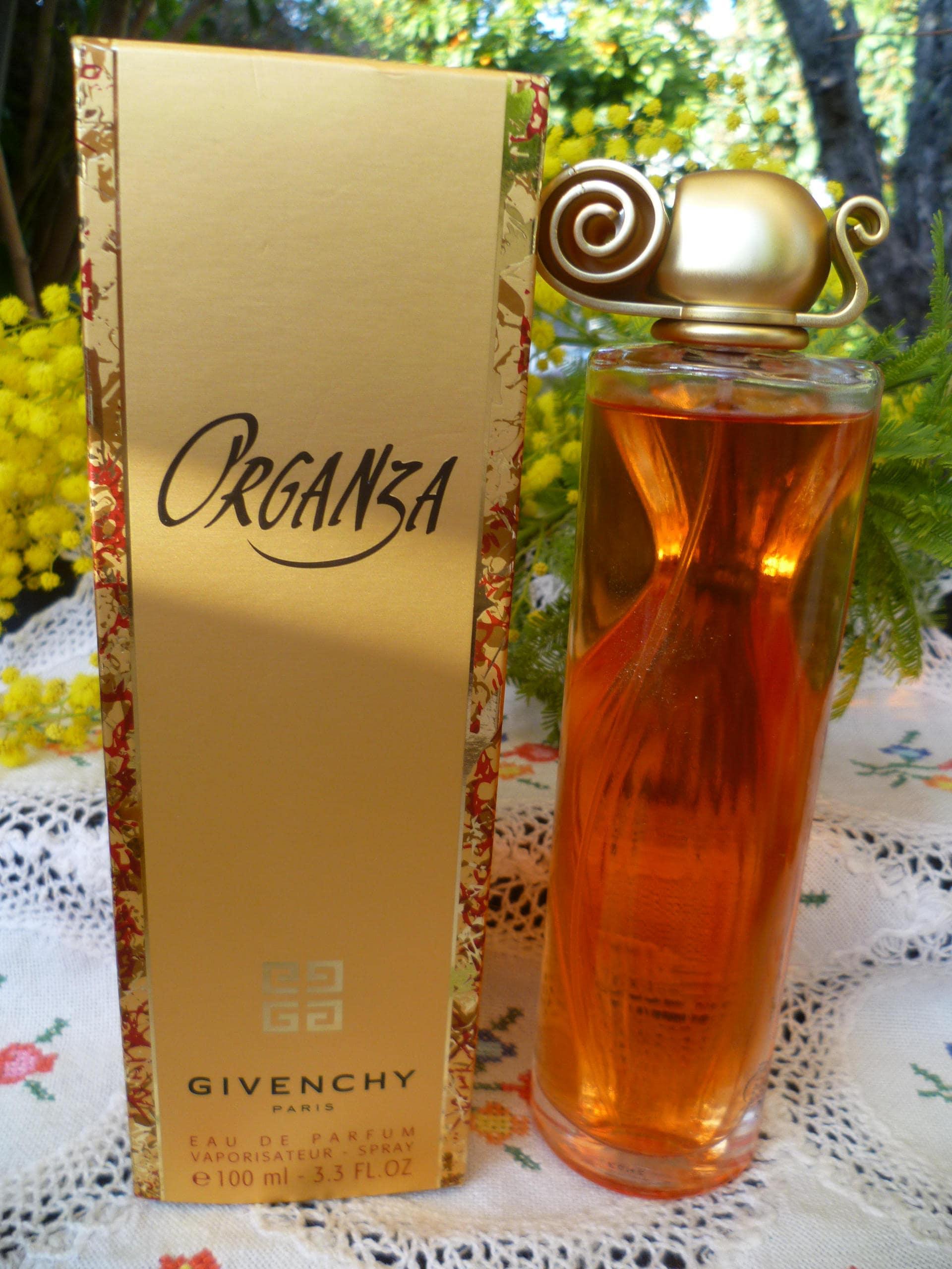 Givenchy Organza Parfum Eau Avec Plein Boite Parfums Presque De 100ml fYb6v7gy