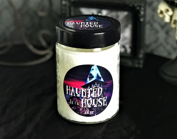 Haunted House Scented Horror Candle, Musty Basement Candle
