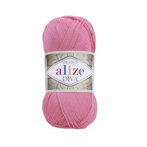 Alize diva acrylic yarn crochet yarn summer yarn bikini pattern knitting yarn silky effect soft yarn alize diva