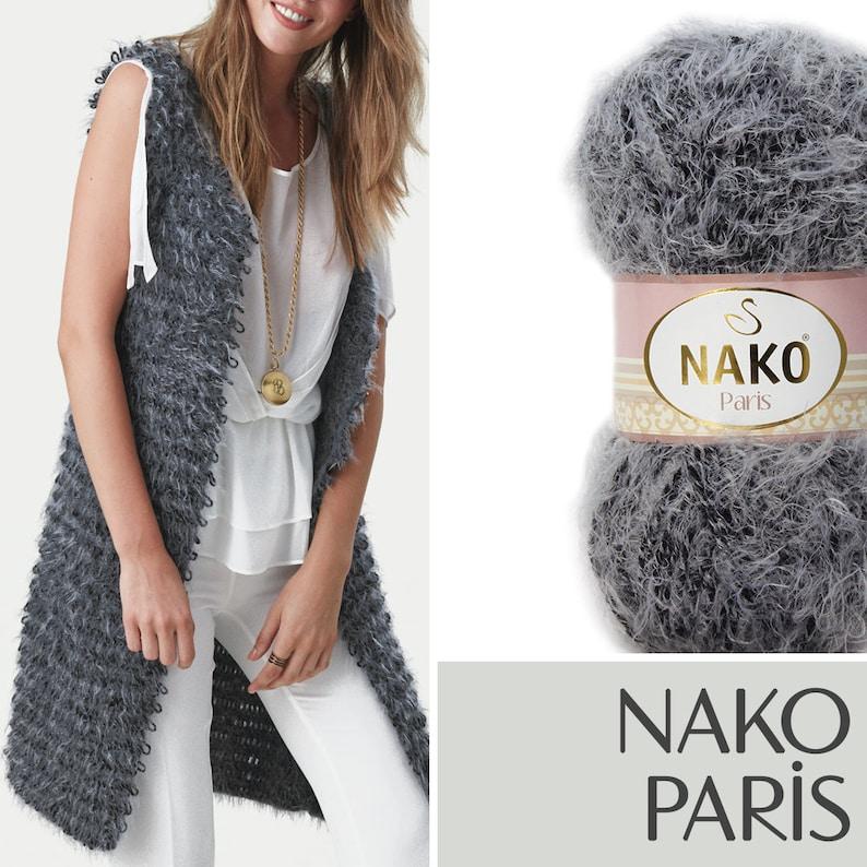 Scarf Shawl Yarn For Winter Knitting Yarn Cardigan Nako Paris Crochet Yarn Acrylic Yarn