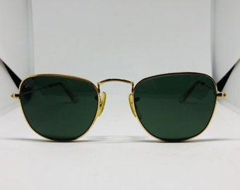 bc9776a86f Items similar to Vintage Ray Ban Bausch and Lomb W1506 Diamond Hard ...