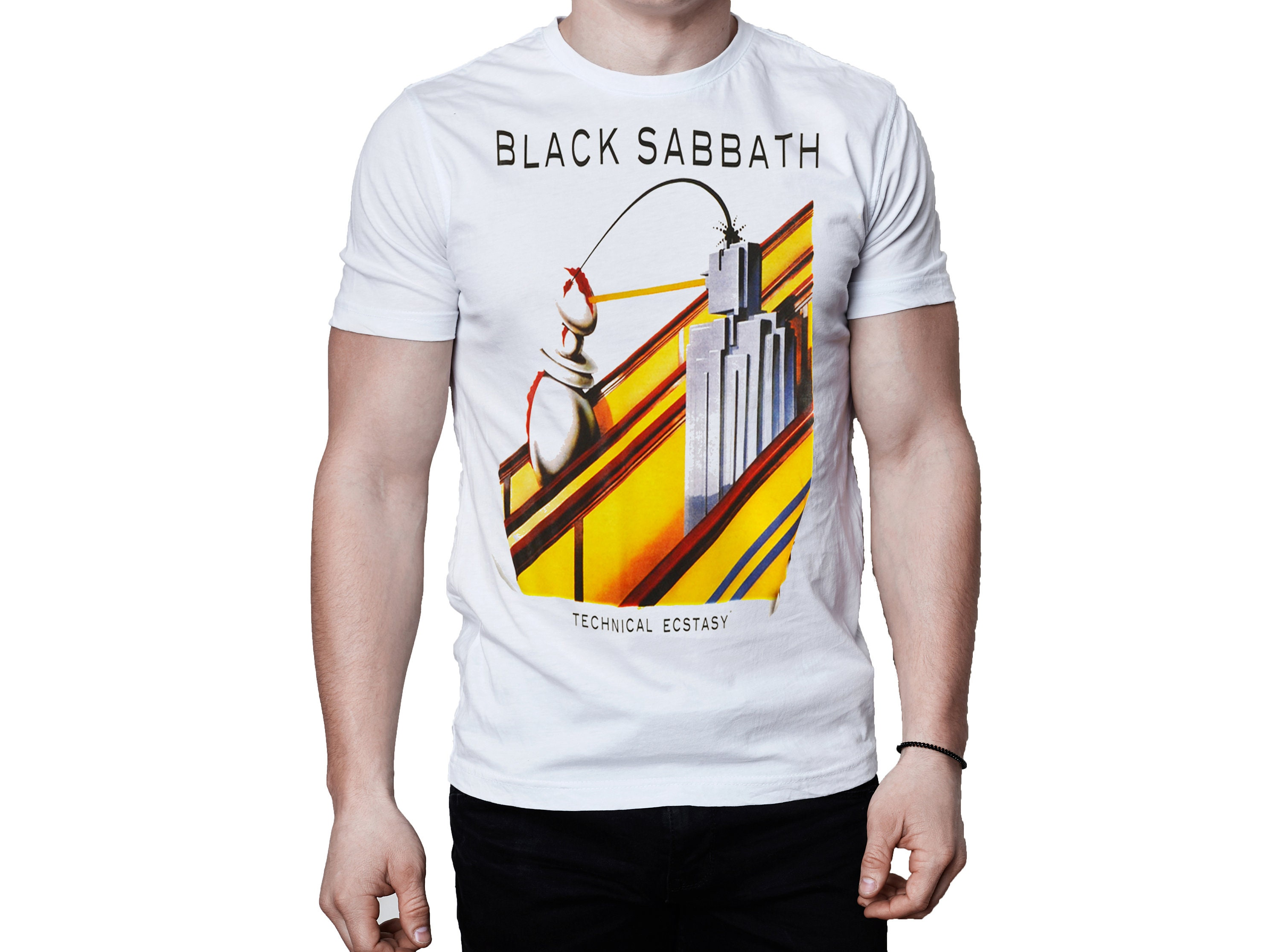 925a3c4a64 Black sabbath technical ecstasy album shirt jpg 3000x2231 Black sabbath  technical ecstasy shirt