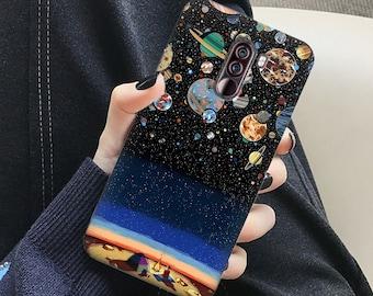 Space case, one plus case, oneplus 8, one plus 8t, one plus 7t pro, one plus 7t, one plus 7 pro, one plus 7, one plus 6t, stars case, galaxy