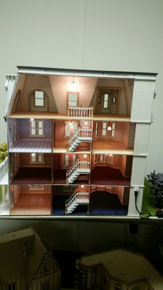 1:48 scale Dollhouse Hegeler Carus Masion