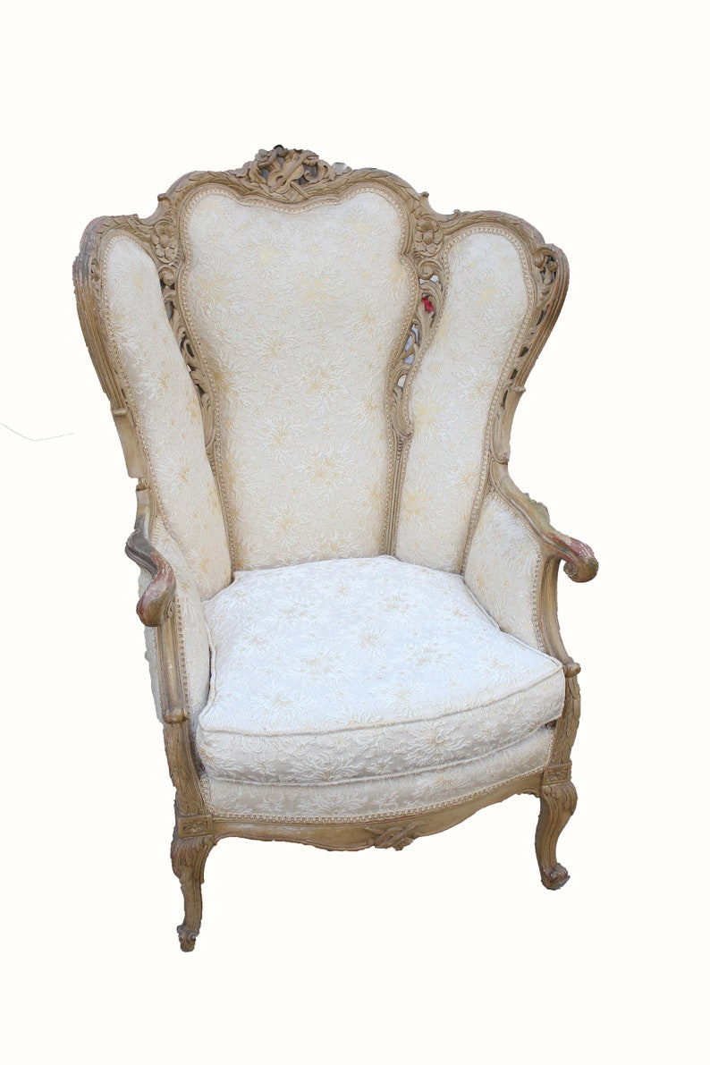 French Provincial Chair >> Mid Century French Provincial Chair