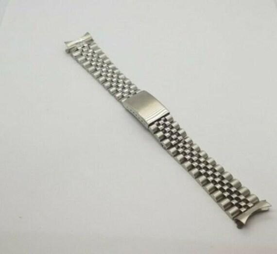 20mm bande de Bracelet Jubilé convient à Rolex Datejust 1600, 1601, 16013,  16014, 16233