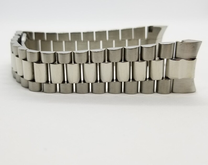 Stainless Steel Solid Jubilee President Bracelet Band fits Rolex Datejust  20mm