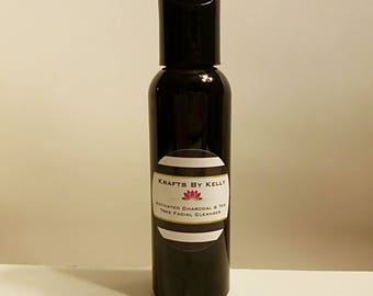 Activated Charcoal and Tea Tree Face Wash