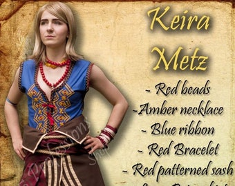 Keira metz cosplay etsy keira inspired cosplay metz costume witcher sorceress handmade custom witch for order stopboris Image collections