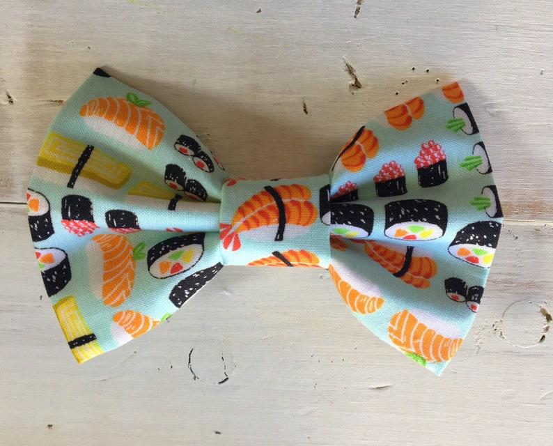 Sushi Dog Bow Tie