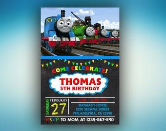 Thomas invitations Etsy