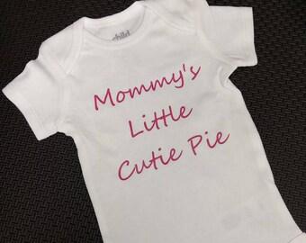 Mommy's Little Cutie Pie Onesie