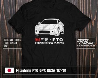 T-shirt Mitsubishi 4G13 Carisma Lancer Mirage
