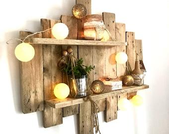 table en bois de palette etsy. Black Bedroom Furniture Sets. Home Design Ideas