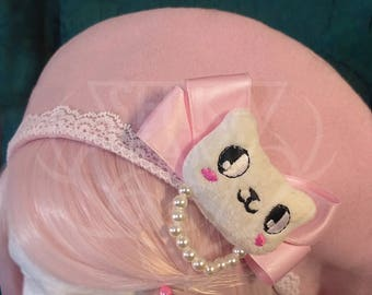 Pink Lolita Cashmere Berets