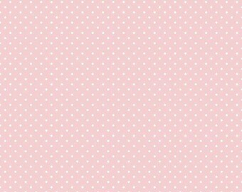 Solid Pink Swiss Dot