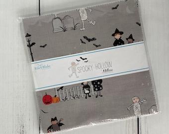 "Spooky Hollow 10"" Stacker (42 pieces) by Melissa Mortenson for Riley Blake Designs, Halloween Bundle, 10-10570-42"