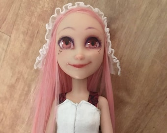OOAK doll repaint, handmade clothes